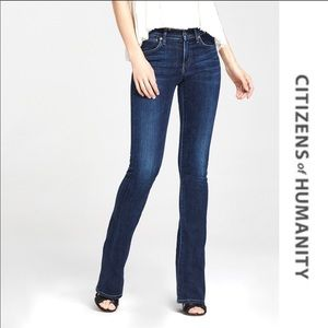 CITIZENS OF HUMANITY Emmanuelle Bootcut Jeans 28
